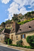 France, picturesque village of Beynac in Dordogne — Stock Photo