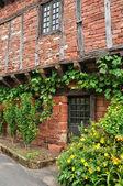France, picturesque village of Collonges la Rouge — Stock Photo