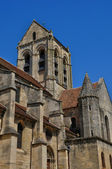 France, the Notre Dame church of Auvers sur Oise — Stock Photo