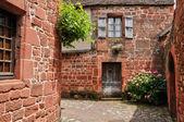 France, picturesque village of Collonges la Rouge — Stockfoto