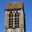 France, the old church of Champagne sur Oise — Stock Photo