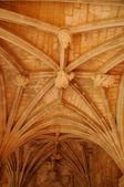 Dordogne, the Cadouin abbey in Perigord — Stock Photo