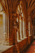 Cadouin abbey in Perigord — Stockfoto