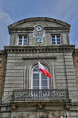 France, the city hall of Avranches — Stock Photo