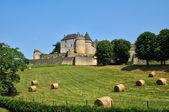 France, picturesque castle of Fenelon in Dordogne — Stock Photo
