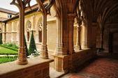 France, Cadouin abbey in Perigord — Stock Photo