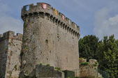 France, the castle of Avranches — Stock Photo