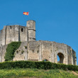 France, historical castle of Gisors in Normandie — Stock Photo