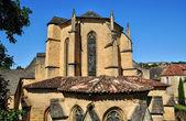 France, picturesque city of Sarlat la Caneda in Dordogne — Stock Photo