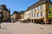 France, picturesque city of Sarlat la Caneda in Dordogne — Stock Photo