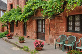 France, picturesque village of Collonges la Rouge — Stock Photo