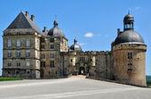 France, castle of Hautefort in Dordogne — Zdjęcie stockowe