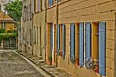 France, the old village of Marly le Roi — 图库照片