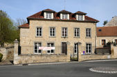 France, the village of Gaillon sur Montcient in Les Yvelines — 图库照片