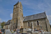 France, Courtils church in Normandie — Stock Photo