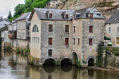 France, city of Terrasson Lavilledieu in Dordogne — Stock Photo
