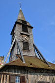 France, Sainte Catherine church of Honfleur in Normandy — Stock Photo