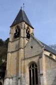 France, the historical village of La Roche Guyon — Stock Photo