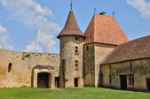 France, picturesque castle of Biron in Dordogne — Stock Photo