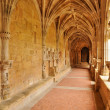 France, Cadouin abbey in Perigord — Stock Photo