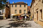 Fransa, sarlat la caneda dordogne içinde pitoresk kenti — Stok fotoğraf