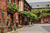 France, picturesque village of Collonges la Rouge — Zdjęcie stockowe