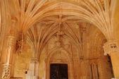 Cadouin abbey in Perigord — Stock Photo