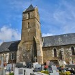 Stock Photo: France, historical church of Courtils in Normandie