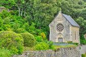 France, picturesque garden of Marqueyssac in Dordogne — Foto de Stock