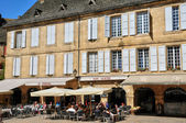 France, picturesque city of Sarlat la Caneda in Dordogne — Zdjęcie stockowe