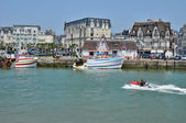 France, Trouville port in Normandy — Stock fotografie