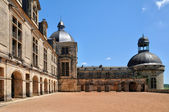 France, castle of Hautefort in Dordogne — 图库照片