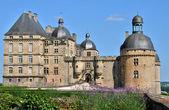 France, castle of Hautefort in Dordogne — Stock Photo