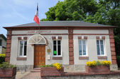 City hall of Auberville in Normandie — Stock Photo