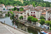 France, picturesque city of Brantome — Foto Stock