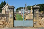 France, cemetery of Proissans in Dordogne — Stock Photo
