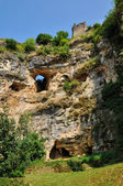 Perigord, caves in the village of Cuzorn in Lor et Garonne — Foto de Stock