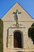 France, picturesque village of Saint Jean de la Foret — Foto de Stock