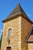 France, picturesque village of Sarlat — Foto de Stock