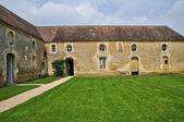 França, castelo de canon em normandia — Foto Stock