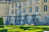 франция, замок hautefort в дордонь — Стоковое фото