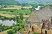 France, middle age castle of Beynac in Dordogne — Stock Photo