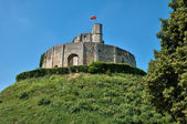 France, historical castle of Gisors in Normandie — Stockfoto