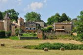 France, picturesque village of Lacapelle Biron — Stok fotoğraf