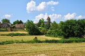 France, picturesque village of Lacapelle Biron — Foto de Stock