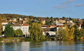 Ile de France, city of Triel sur Seine — Stockfoto