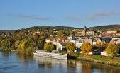 иль-де-франс, город triel-сюр-сена — Стоковое фото