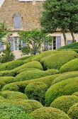 France, picturesque garden of Marqueyssac in Dordogne — Stockfoto