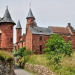 France, picturesque village of Collonges la Rouge — Stock Photo #38035217