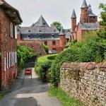 France, picturesque village of Collonges la Rouge — Stock Photo #38035395